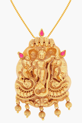 MALABAR GOLD AND DIAMONDSWomens 22 KT Gold Pendant - 201203664