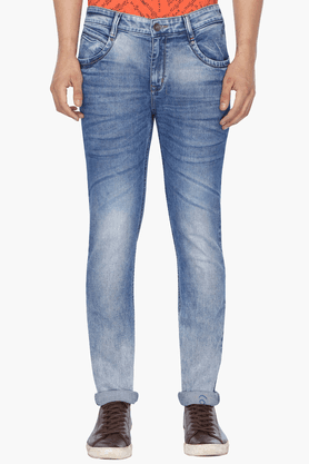 LIFE Mens Washed Jeans