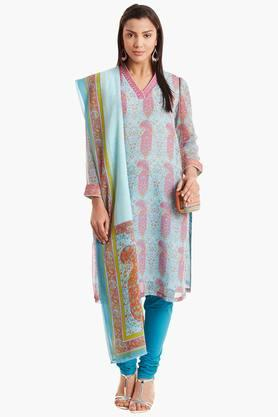 BIBA Womens Cotton Straight Suit Set - 202179599