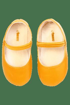 Girls Daily Wear Leather Slipon Ballerina Shoe