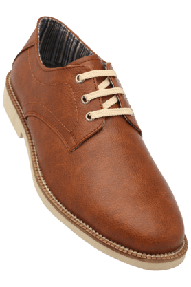 STOPMens Leather Lace Up Casual Shoe - 200880841_9126