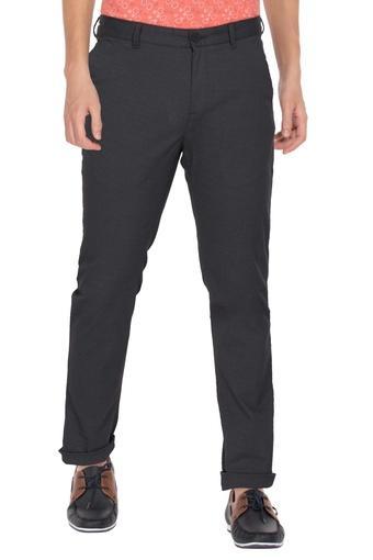C131 -  BlackCasual Trousers - Main