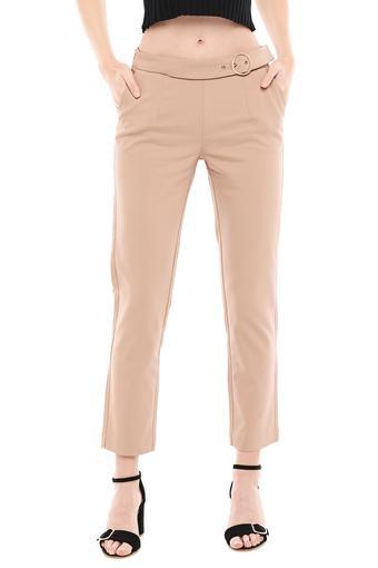 MADAME -  KhakiTrousers & Pants - Main