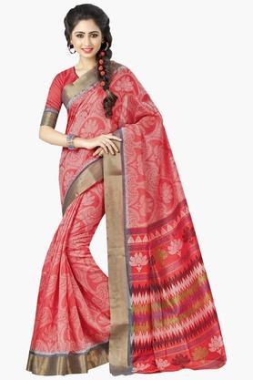 DEMARCAWomens Silk Designer Saree - 202338174