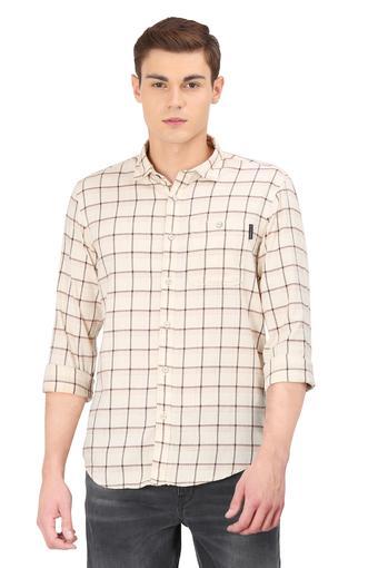 LOUIS PHILIPPE JEANS -  CreamShirts - Main