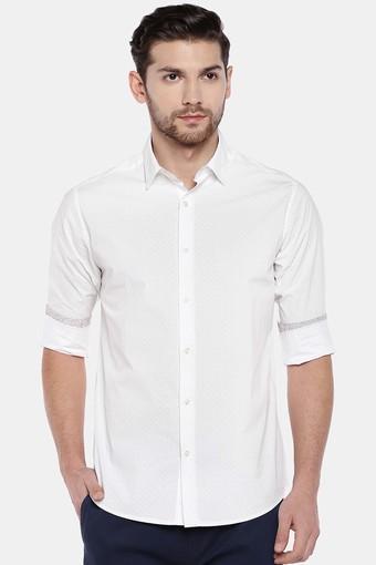 COTTONWORLD -  WhiteCasual Shirts - Main