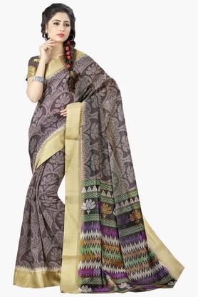 DEMARCAWomens Silk Designer Saree - 202338170