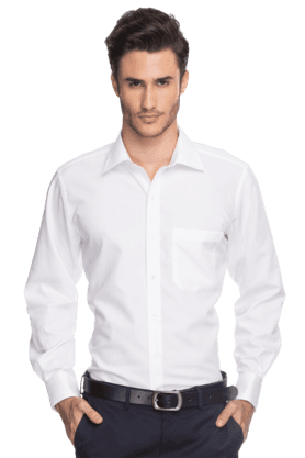 7d38958c9e679e Buy LOUIS PHILIPPE Mens Full Sleeves Slim Fit Formal Solid Shirt ...