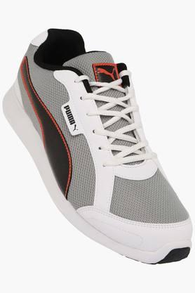 PUMA Mens Mesh Lace Up Sports Shoes  ... - 202304619