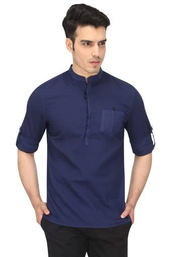 CELIO -  Navy Casual Shirts - Main
