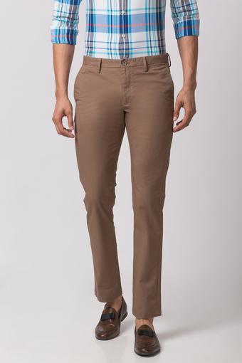 INDIAN TERRAIN -  BrownCasual Trousers - Main