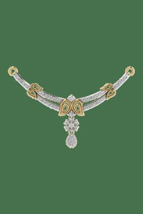 TARA JEWELLERSWomens 18 Karat Gold And Diamond Mangalsutra Pendant - 200944714_9999