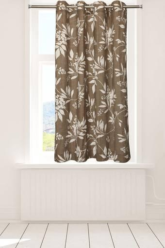 ROSARA HOME -  Brown Curtains - Main