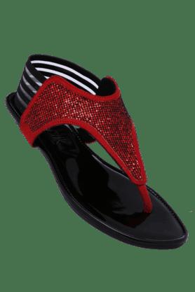CATWALKWomens Daily Wear Slipon Flat Sandal