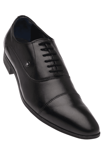 LOUIS PHILIPPE -  Black Formal Shoes - Main