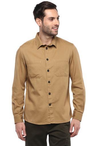 CELIO -  CamelCasual Shirts - Main