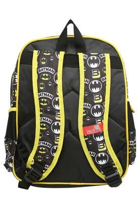 Kids Batman Print Zip Closure School Bag