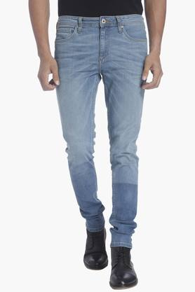 JACK AND JONES Mens 5 Pocket Stretch Jeans (Liam Fit)