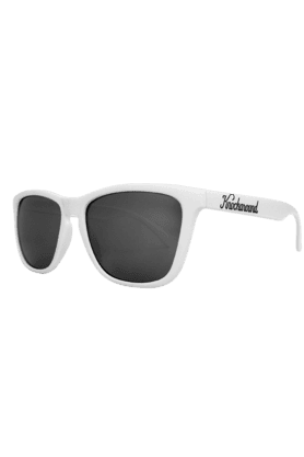 KNOCKAROUND Classic Premium Unisex Sunglasses White/Smoke-PRGL1004 (Use Code FB20 To Get 20% Off On Purchase Of Rs.1800)