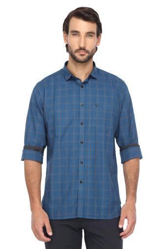 ALLEN SOLLY -  TurquoiseShirts - Main