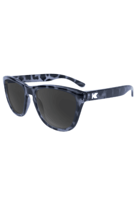 KNOCKAROUND Premium Unisex Sunglassess Glossy Black Tortoise Shell/Smoke-PMSK2011 (Use Code FB20 To Get 20% Off On Purchase Of Rs.1800)