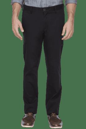 ALLEN SOLLYMens Slim Fit Solid Chinos - 200582278