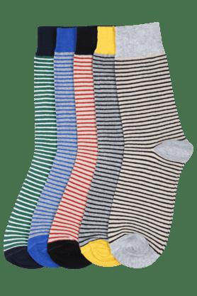 STOPMen Striped Socks (Set Of 5)