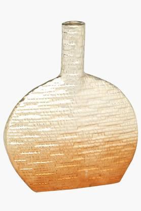 IVYCeramic Textured Decorative Vase - 201180871