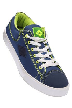 LEE COOPERMens Blue Casual Lace Up Shoes