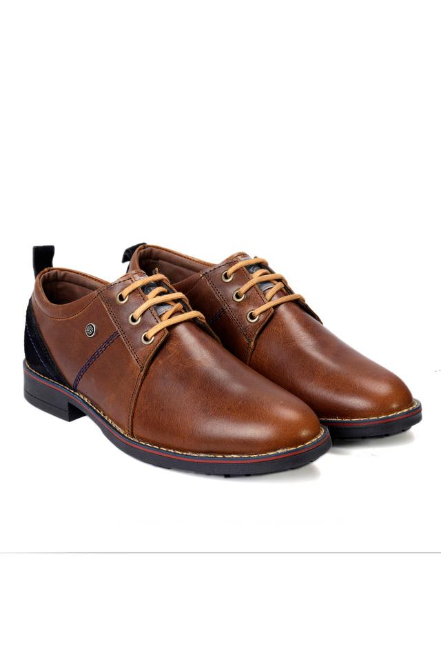 Mens Casual Wear Lace Up Flat Boots