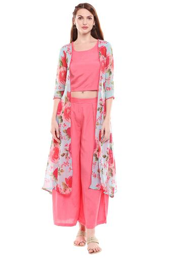 HAUTE CURRY -  Pink Ethnic Sets - Main