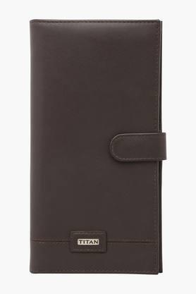 Mens Leather Passport Holder