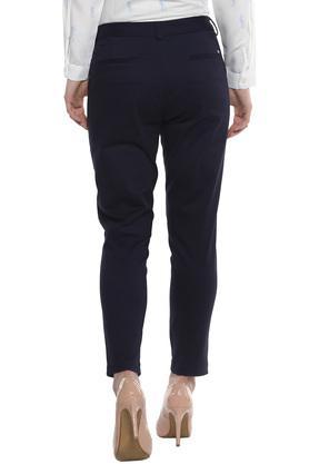 ALLEN SOLLY - Dark BlueTrousers & Pants - 1