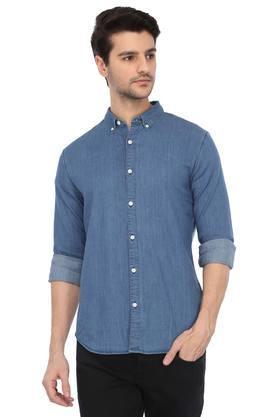 Mens Button Down Collar Assorted Casual Shirt
