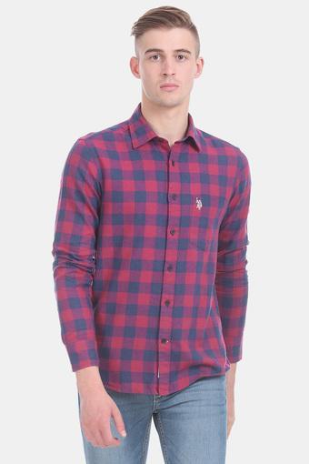 U.S. POLO ASSN. -  Dark PinkCasual Shirts - Main