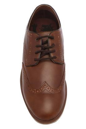 Mens Leather Lace Up Brogues