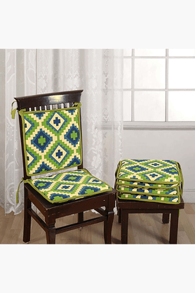 Printed Chair Pads With Loops