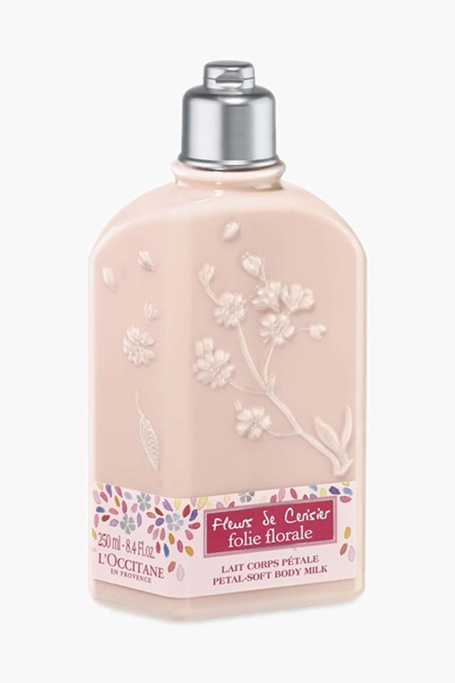 Womens Cherry Blossom Folie Florale Body Milk - 250ml