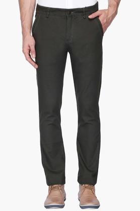 CALVIN KLEIN JEANSMens Regular Fit Coated Jeans