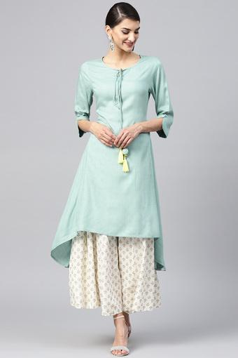 JUNIPER -  Mint Kurtas - Main