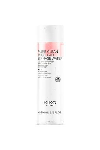 KIKO MILANO PURE CLEAN MICELLAR BIPHASE WATER 200ML   200 ml