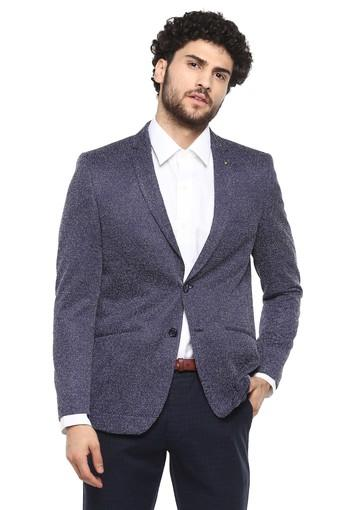 ALLEN SOLLY -  Dark Blue Suits & Blazers & Ties - Main