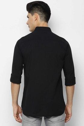 ALLEN SOLLY - BlackCasual Shirts - 1