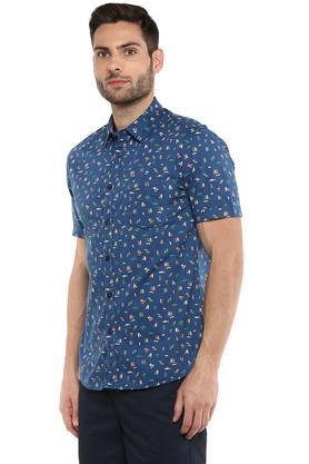 PARX - BlueCasual Shirts - 2