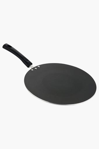 Hard Anodised Induction Friendly Concave Tawa - 25 Cm