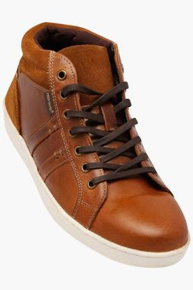 RED TAPE Mens Leather Lace Up Casual Shoes - 202346053