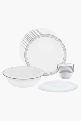 CORELLE Mystic Grey 10 Pcs Dinner Set
