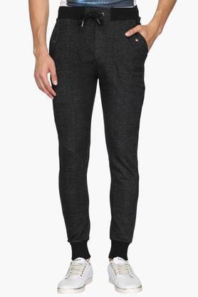 PROLINE Mens Regular Fit 3 Pocket Slub Track Pants (Dynamic Fit)  ...