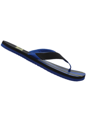 Mens Stripe Slipon Slipper