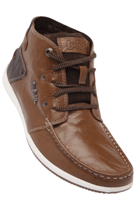 LEE COOPERMens Lace Up Casual Boot